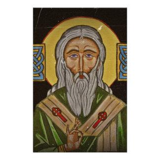 Celtic Cross Saint Patrick Stationery