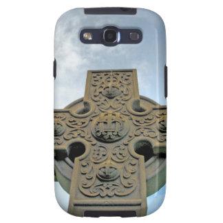 Celtic Cross Samsung Case Samsung Galaxy S3 Covers