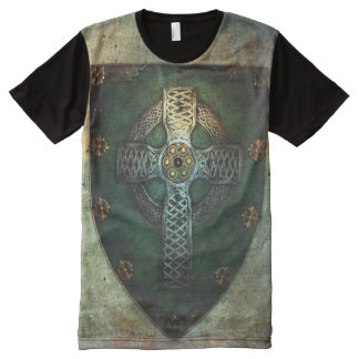 Celtic Cross Shield T-shirt