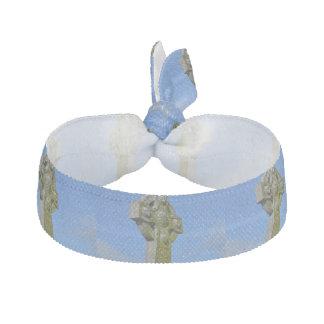 Celtic Cross Ribbon Hair Tie