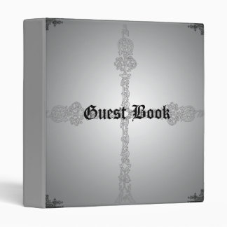 Celtic Cross Special Occasion Guest Book Binder