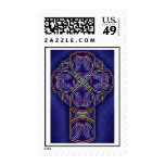 Celtic cross stamp