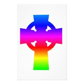 Celtic Cross Stationery