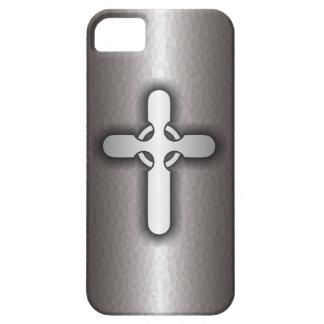 Celtic Cross (steel) iPhone SE/5/5s Case