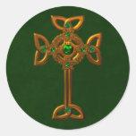Celtic Cross Sticker