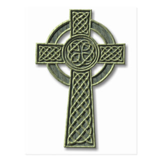 Celtic Cross - stone Postcard