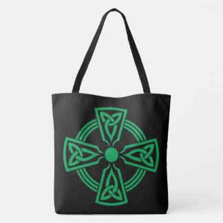 Celtic Cross Tote Bag