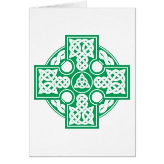 Celtic cross v2 card