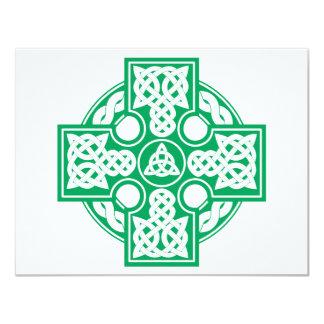 Celtic cross v2 4.25x5.5 paper invitation card