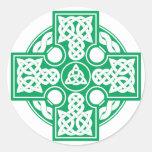 Celtic cross v2 sticker