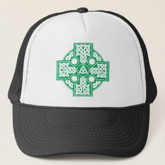 Celtic cross v2 trucker hat
