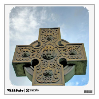 Celtic Cross Wall Decal