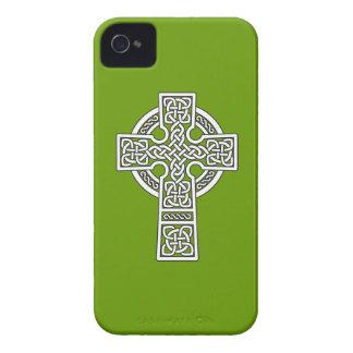 Celtic Cross white Case-Mate iPhone 4 Case
