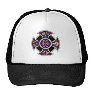 Celtic Cross with pattern Trucker Hat
