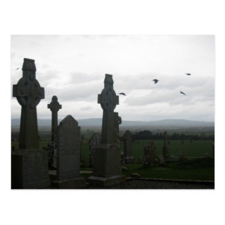Celtic Crosses Postcard