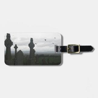 Celtic Crosses, Rock of Cashel, Ireland Bag Tags