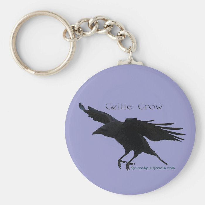 CELTIC CROW Collection Keychain
