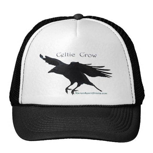 CELTIC CROW Collection Mesh Hat