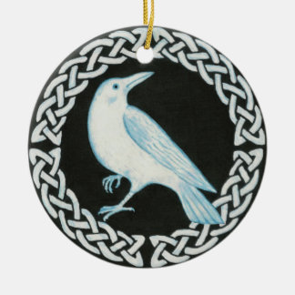 Celtic Crow Ornament