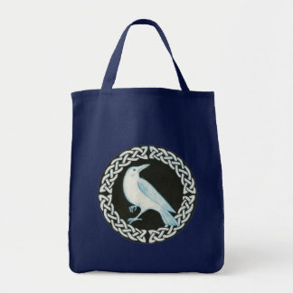 Celtic Crow Tote Bag