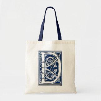 Celtic D Monogram Tote Bag