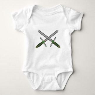 Celtic Daggers Baby Bodysuit