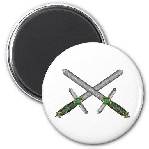 Celtic Daggers Magnets
