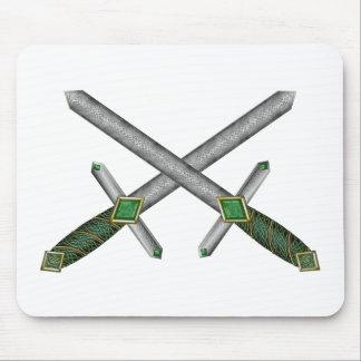 Celtic Daggers Mouse Pad