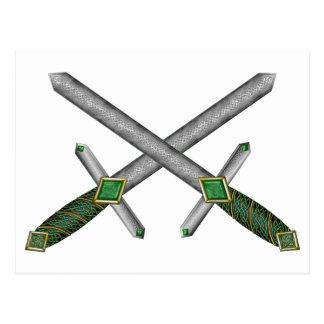 Celtic Daggers Postcard