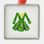 Celtic Dance Dress Metal Ornament