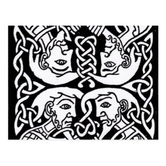 Celtic design 12 postcard