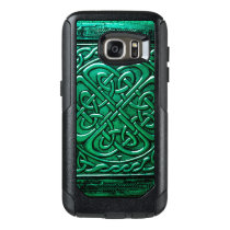 Celtic Design (1) Green OtterBox Samsung Galaxy S7 Case