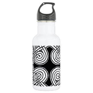 Celtic design 3 stainless steel water bottle