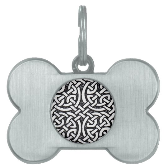 Celtic design 4 pet name tag