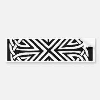 Celtic design 5 bumper sticker