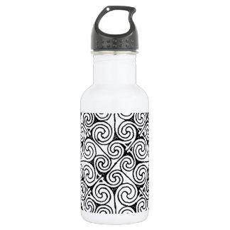 Celtic design 6 water bottle