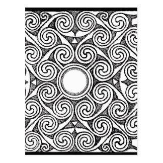 Celtic design 7 postcard