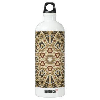 celtic design aluminum water bottle
