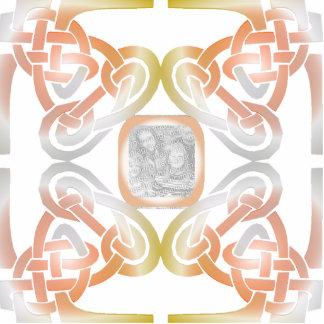 Celtic Design Frame Photo Sculpture
