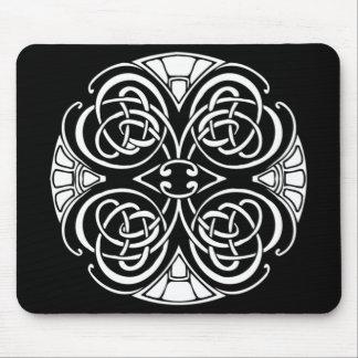 Celtic design mouse pad