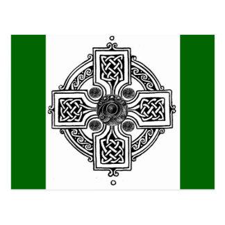Celtic design postcard