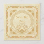Celtic Design With Claddagh Wedding Save The Date
