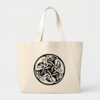 Celtic Dogs Tote Bags