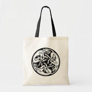 Celtic Dogs Canvas Bag