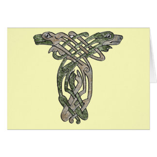 Celtic Dogs Card