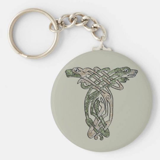 Celtic Dogs Keychain
