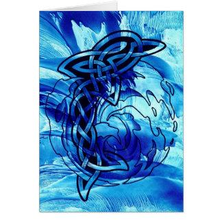 Celtic Dolphin Cards