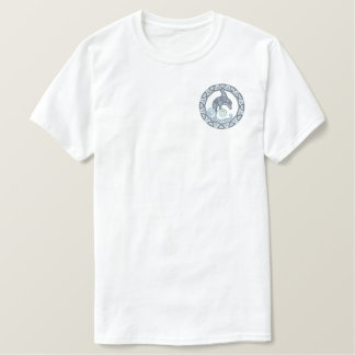 Celtic Dolphin Embroidered T-Shirt