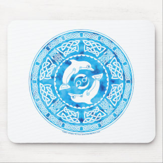 Celtic Dolphin Mouse Pad