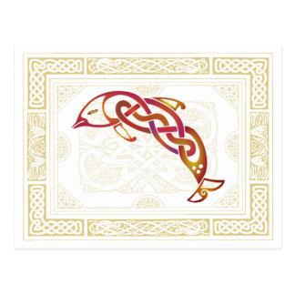 Celtic Dolphin Postcard